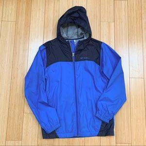 COLUMBIA youth large 14/16 zippered raincoat.